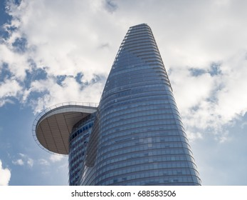Saigon, Ho Chi Minh city, South Vietnam, January 2017: [ Bitexco Financial Tower, the tallet building in Vietnam in the center of Saigon  ]