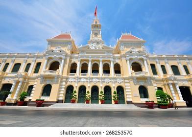 Saigon townhall building, Vietnam