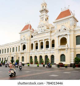 SAIGON VIETNAM, 8 September 2017:  Ho Chi Minh City Hall (Peoples Committee) Building