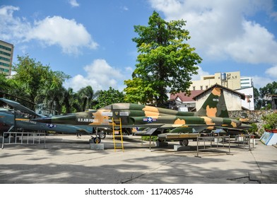 SAIGON, VIETNAM - JULY 4, 2015: War museum in Saigon