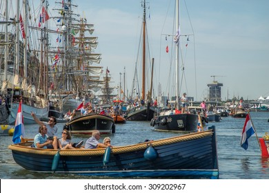 SAIL Amsterdam 2015 is the largest free public event in the world. An immense flotilla of Tall Ships, maritime heritage, naval ships and impressive replicas. AUGUST 19, 2015 AMSTERDAM THE NETHERLANDS