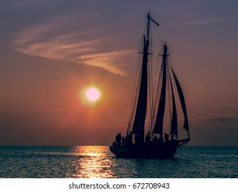 Sail Away - Sailing at sunset on the Great Lakes