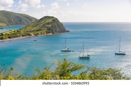 sail boat bay
