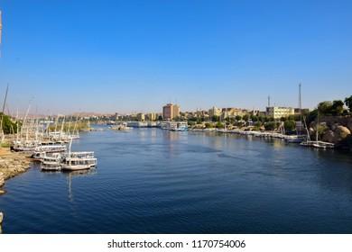 Sail Boat in River nile