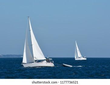 Sail Boats in Martha's Vineyard