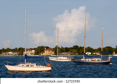 Sail Boats, Boats in Saint Augustine Florida