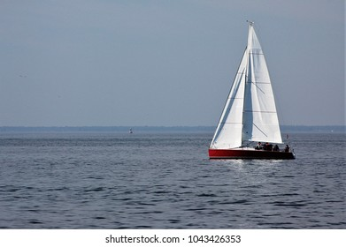 Sailboat in Aegean Sea