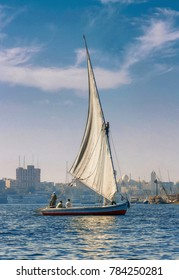 sailboat - Aswan - Egypt
