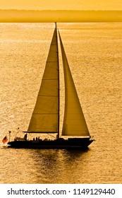 Sailboat in Golden Bay