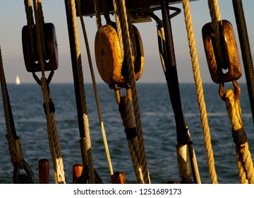 Sailboat on the north sea