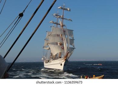Sailboat, Tall Ship