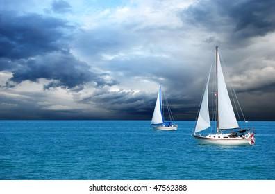 sailing after a storm