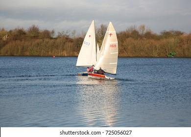 Sailing Boats Colliding