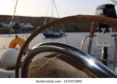 Sailing holliday atmosphere photo shoot