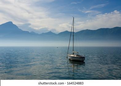 Sailing Lake Garda