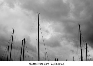 Sailing masts
