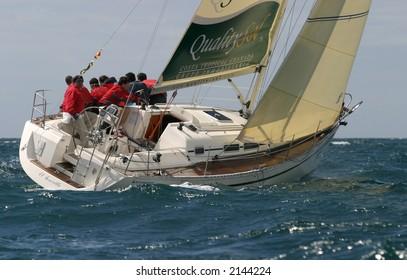 Sailing in the mediterranean sea. 10.11.06 19
