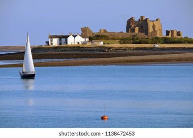 sailing near piel island