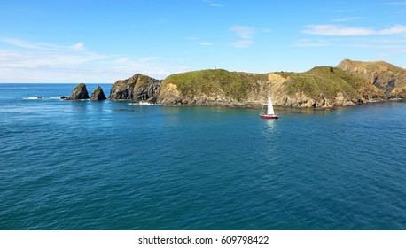 Sailing to the ocean - New Zealand, south island