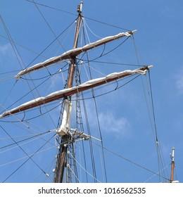 Sailing, Ship, Mast