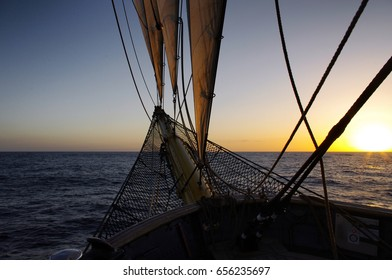 Sailing ship prow