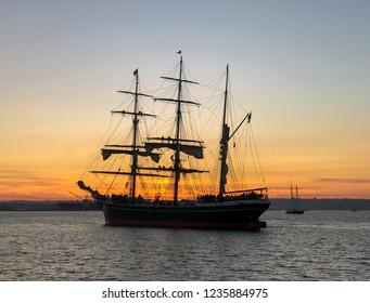 Sailing Ship  San Diego