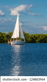 Sailing in Southwest Florida in winter.