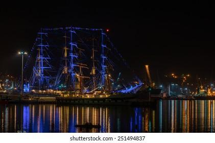 sailing vessel rigging