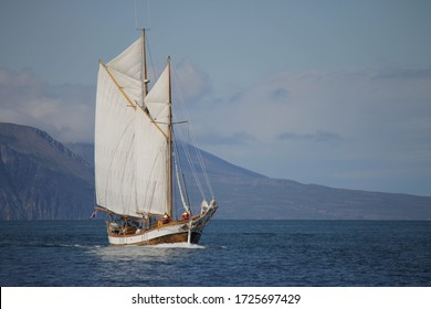 Sailing Vessel under way sailing