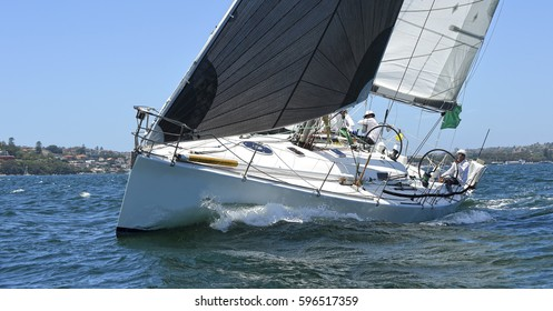 Sailing. Sailing yacht race. Yachting