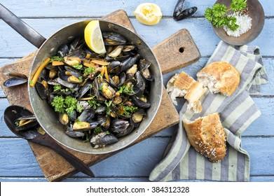 Sailors Mussel in Casserole