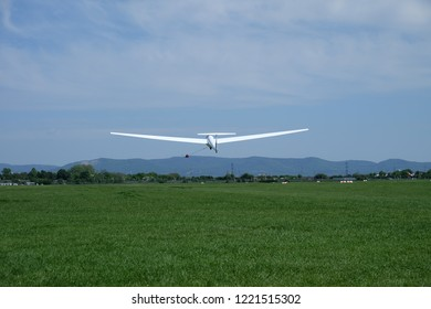 Sailplane taking of in Mannheim