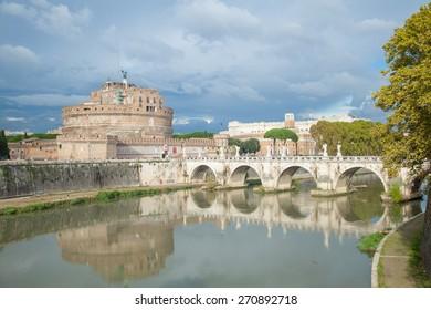 Saint Angelo Castle, Rome Italy