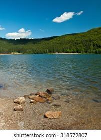 Saint Anna lake in summer