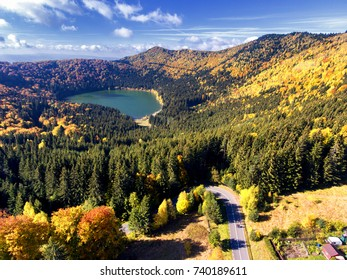 Saint Anna Lake, Transylvania, Romania