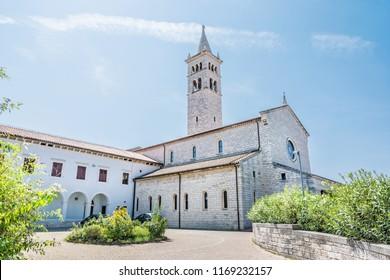 Saint Anthony of Padua church in Pula, Istria, Croatia. Religious architecture. Travel destination.