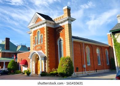 Saint Athanassius Greek Orthodox church Kingston Ontario Canada historic heritage building 19th century