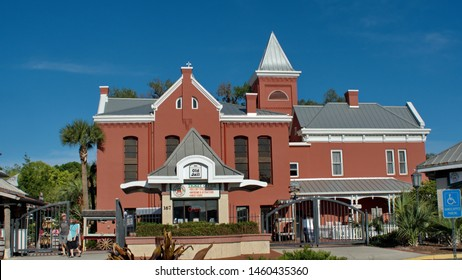 SAINT AUGUSTINE, FLORIDA, USA - CIRCA APRIL 2019: Old Jail museum and attraction