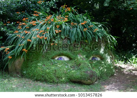 Lost gardens of heligan statues garden ftempo for Victoria secret pembroke gardens