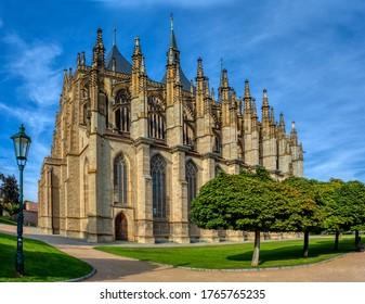 Saint Barbara's Cathedral, Church, Czech: Chram svate Barbory, is a Roman Catholic church in Kutna Hora, Bohemia, UNESCO WORLD HERITAGE,Czech Republic - Shutterstock ID 1765765235