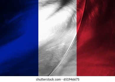 Saint Barthelemy flag grunge background. Background for design in country flag