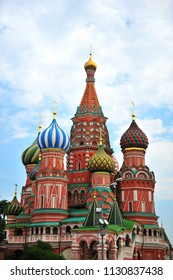 Saint Basil cathedral on the Red Square, Russia
