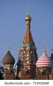 Saint Basils cathedral in Moscow