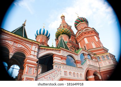 Saint Basil's Cathedral. Red Square, Moscow Russia.