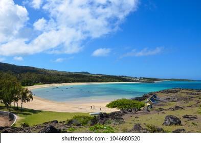 Saint François Beach, Rodrigues Island, Mauritius