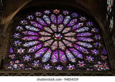 Saint Denis gothic cathedral,Paris, France
