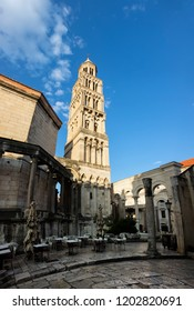 Saint Domnius Cathedral in Split, Croatia, originated in the 7th century AD in the Diocletian's Mausoleum, regarded as the oldest cathedral in the world that remains in use in its original structure.