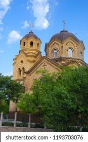 Saint Elijah Church in Eupatoria. Crimea, Ukraine.
