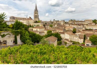 Saint Emilion French village, Unesco heritage, famous for its wine.