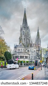 Saint Fin Barre's Cathedral in Cork city. Ireland.